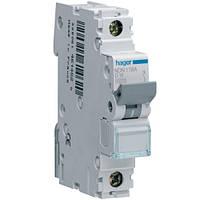 Автоматический выключатель Hager NDN125. Iн=25А, хар-ка D