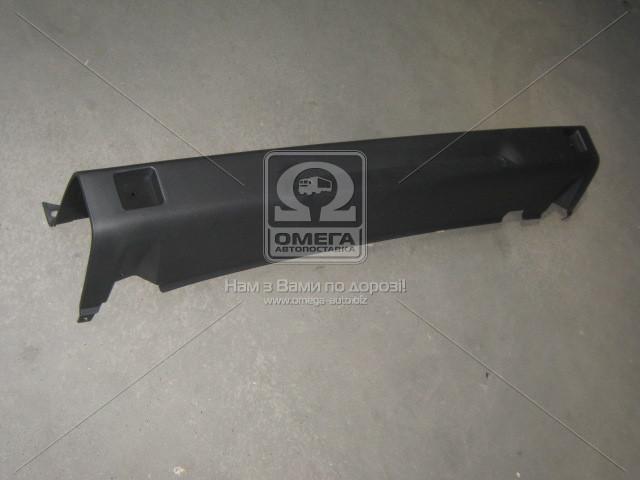 Бампер задний FIAT DOBLO (Фиат Добло) 2005-09 (пр-во TEMPEST)