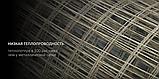 Композитная сетка кладочная HardMesh ячейка 50х50мм, диаметр 2мм, фото 8