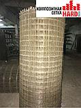 Композитная сетка кладочная HardMesh ячейка 50х50мм, диаметр 2мм, фото 3