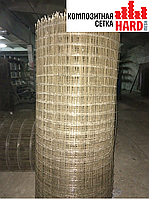 Композитная сетка кладочная HardMesh ячейка 100х100мм, диаметр 2мм
