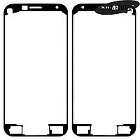 Стикер (двухсторонний скотч) тачскрина панели для Samsung Galaxy S5 mini G800H, оригинал