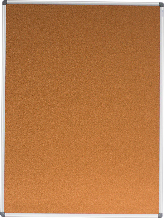 Доска Buromax  пробковая 90х120см алюминиевая рамка
