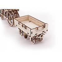 Сборной деревянный 3D пазл «Прицеп для трактора»