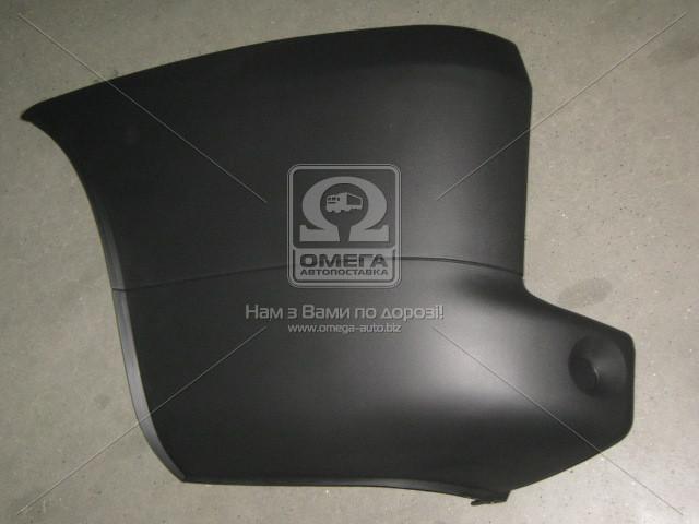Угольник бампера заднего левый FIAT DOBLO (Фиат Добло) 2005-09 (пр-во TEMPEST)