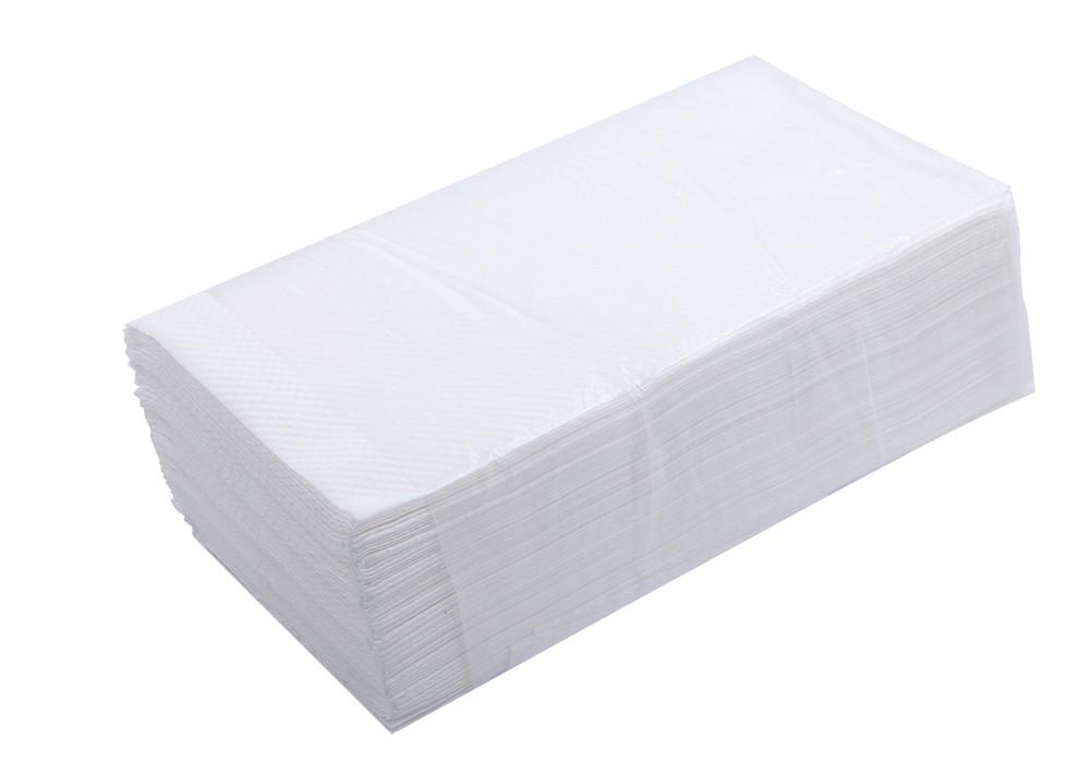 Полотенца бумажные BUROCLEAN макулат. Z-образные 2хслойные белые 160шт 10100103