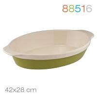Овальная форма для выпечки/запекания granchio natura oliva green ceramica 88516