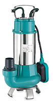 Насос Aquatica LEO V1100F, 1.1квт, Hmax 9м,Qmax 18м³/ч, 220V,дренажно-канализационный