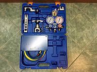 Набор для обработки труб VALUE VTB-5B-111(2-а трубореза,вальцовка,риммер,коллектор,2-а переходника) чемодан