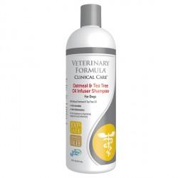 Veterinary Formula Clinical Care Oatmeal&Tea Tree Oil Infuser Shampoo ВЕТЕРИНАРНАЯ ФОРМУЛА УВЛАЖНЯЮЩИЙ ШАМПУНЬ