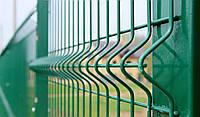 Заборы и ограждения секционные металлические оцинкованные с полимерным покрытием 2.5 м. х 0.82м. рубеж 3х4