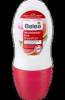 Balea Deo Roll-on Deodorant Pink Grapefruit - Шариковый дезодорант с запахом грейпфрута 50 мл
