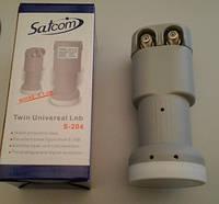 Конвертор Satcom Twin Universal LNB S-204   , фото 1
