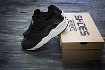 Мужские кроссовки Nike Huarache Run GS 654275-011, Найк Аир Хуарачи, фото 3