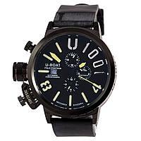 Мужские  часы U-BOAT Itallo Fontana, кварцевый Miyota, U1001, черные