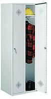 Гардеробный металлический шкаф Sum 320 R - разборная конструкция