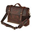 Кожаный портфель Bexhill Bx1033 коричневый, фото 2