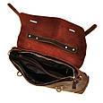 Кожаный портфель Bexhill Bx1033 коричневый, фото 4