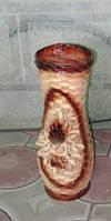 Ваза плетені з лози підлогова