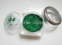 """19 цветов, блески для боди-арт для лица макияж на вечеринку  make up 1шт на выбор """"Moon Light"""" Dark green"""