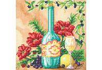 """Схема для вышивки бисером """"Натюрморт с виноградом"""""""