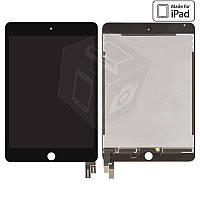 Дисплейный модуль (дисплей + сенсор) для iPad mini 4, черный, оригинал