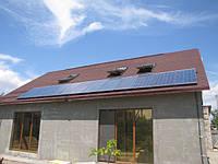 Установленные солнечные панели г. Берислав