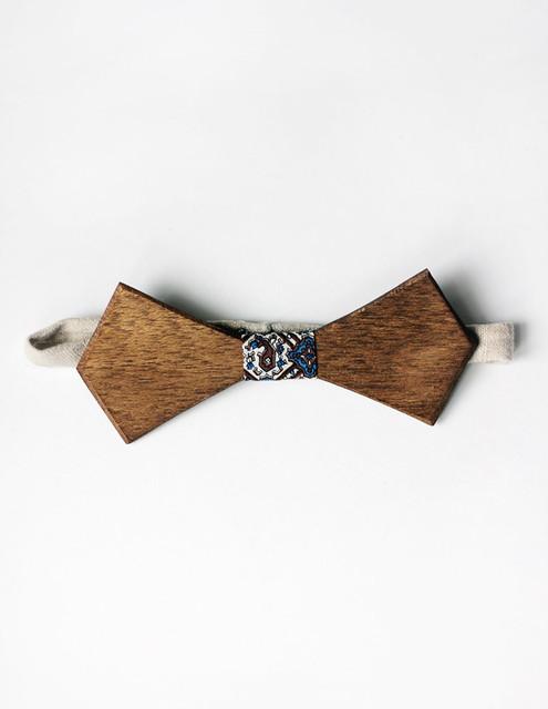 Деревянные Галстук-бабочка ручной работы