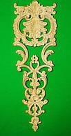 Код ДВ21. Деревянный резной декор для мебели. Декор вертикальный, фото 1