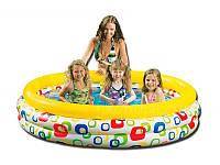 """Детский надувной бассейн Intex """"Волны"""" 168х41 см"""