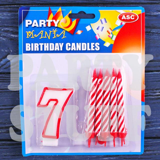 набор свечей для праздника
