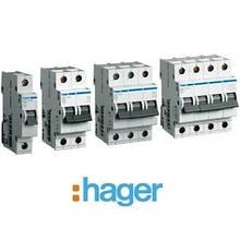 Автоматичні вимикачі Hager характеристика B