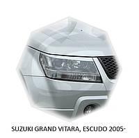 Реснички на фары Suzuki GRAND VITARA 2005+ г.в. сузуки гранд витара