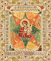 """Схема для вышивки бисером """"Икона Божией Матери """"Неопалимая купина"""""""