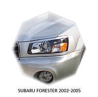 Реснички на фары Subaru FORESTER 2002-2005 г.в. субару форестер