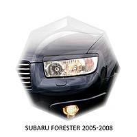 Реснички на фары Subaru FORESTER 2005-2008 г.в. субару форестер