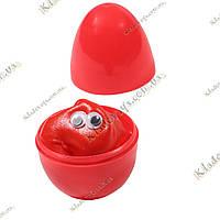 Жвачка для рук 20г (Хэндгам, Handgum, ручная жвачка) в яйце, красная, фото 1