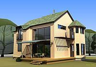 Строительство каркасных домов и коттеджей