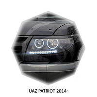 Реснички на фары UAZ PATRIOT 2014+ г.в. УАЗ Патриор