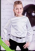 Шкільна блузка для дівчинки: 3603-3