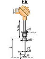 Термопреобразователь ТСП1-3г ТСМ1-3г ТСТ1-3г ТХА1-3г ТХК1-3г ТЖК1-3г