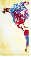 Карта мира-1. AB-463