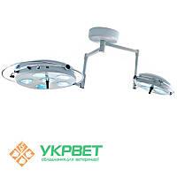 Светильник операционный девятирефлекторный L2000 6+3-II
