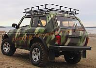 Багажник экспедиционный на Ниву ВАЗ 2121 штатный на крышу