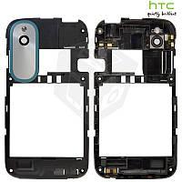 Рамка корпуса с защитным стеклом камеры для HTC Desire X T328e, оригинальный