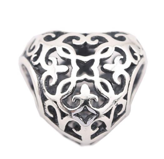 Шарм для браслета Пандора (Pandora) «Винтажное сердце»
