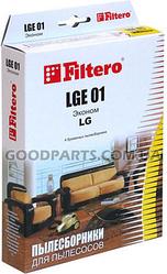 Пылесборник FILTERO LGE 01 (4) Эконом для пылесосов LG