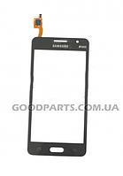 Сенсорный экран (тачскрин) для Samsung G530h Galaxy Star серый high copy
