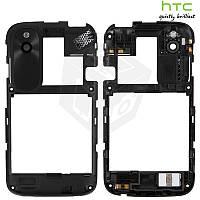 Рамка корпуса с защитным стеклом камеры для HTC Desire V T328w, оригинальный