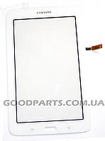 Сенсорный экран (тачскрин) к планшету Samsung T110 белый (Оригинал)